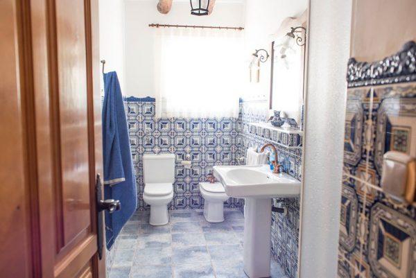 Baño bajo La Lobera
